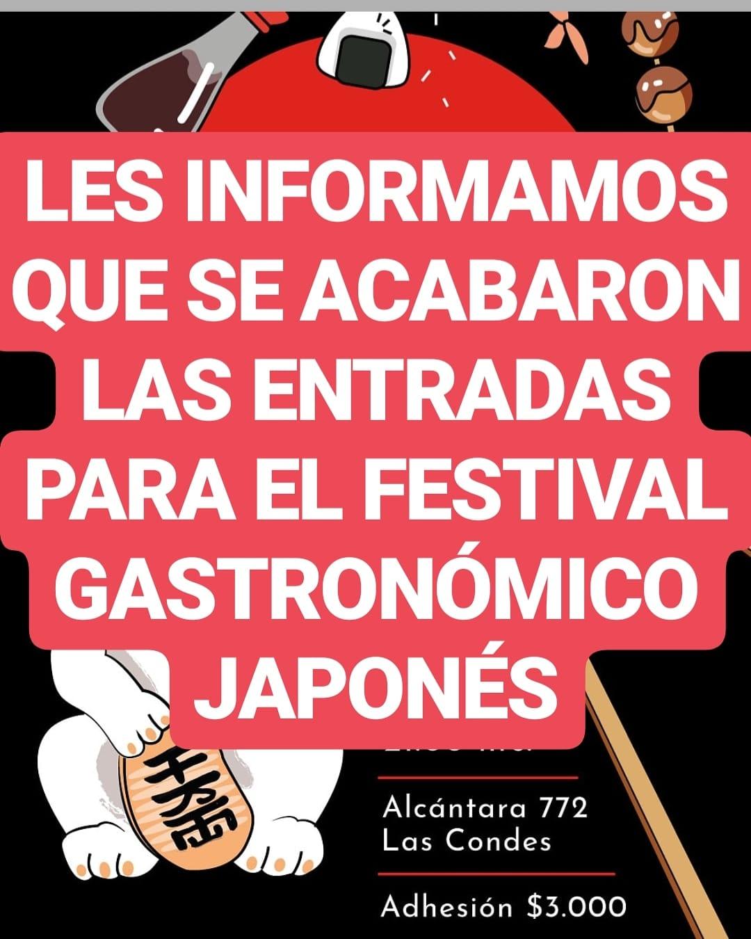 Festival Gastronómico Japonés 2018