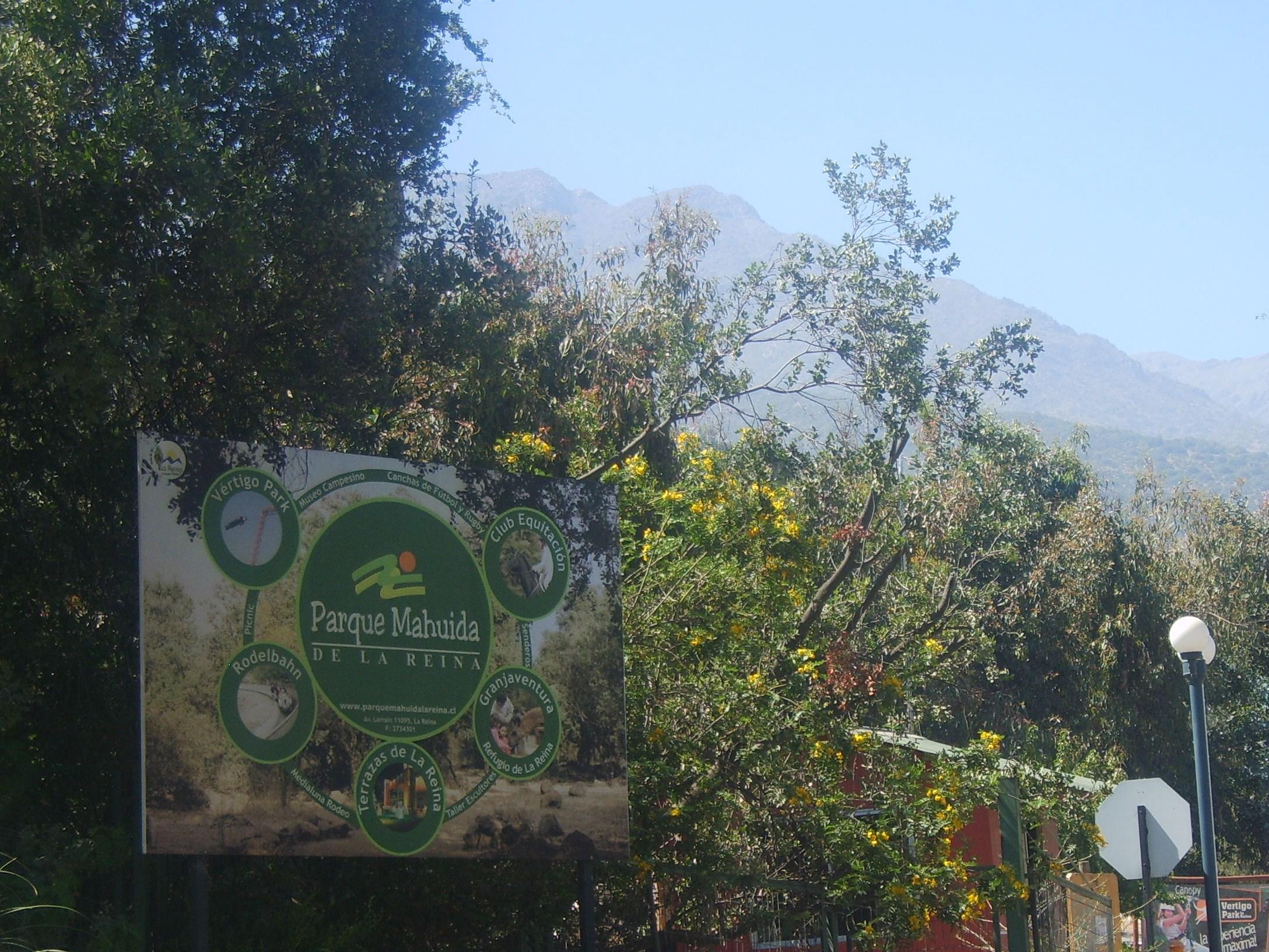 Comunicado Anteproyecto Parque Mahuida