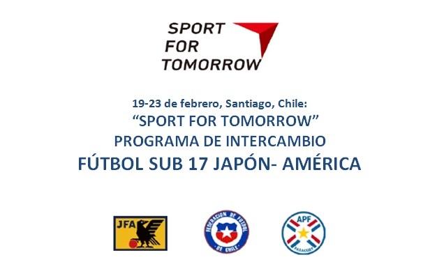 Sub 17 de Japón en Chile