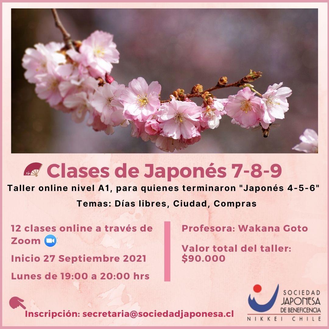 Taller Japonés 7-8-9